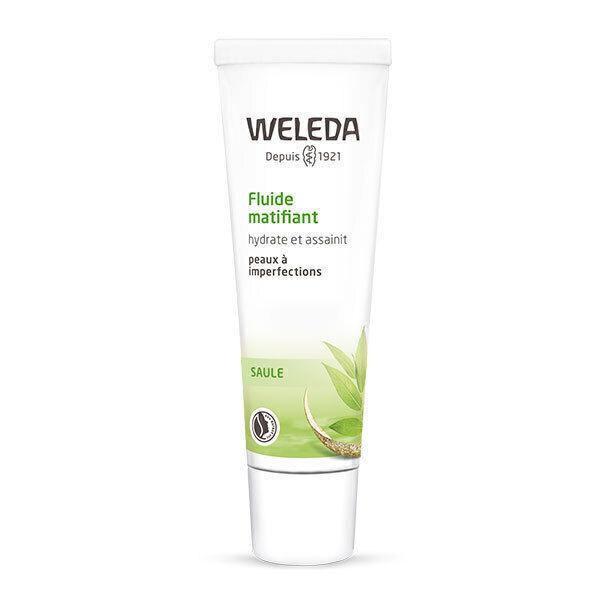 Weleda - Fluide matifiant à l'écorce de saule 30ml