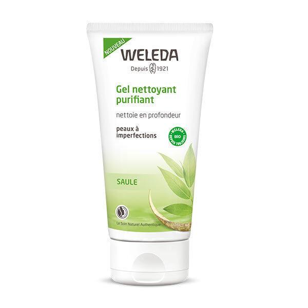 Weleda - Gel nettoyant purifiant à l'écorce de saule 100ml