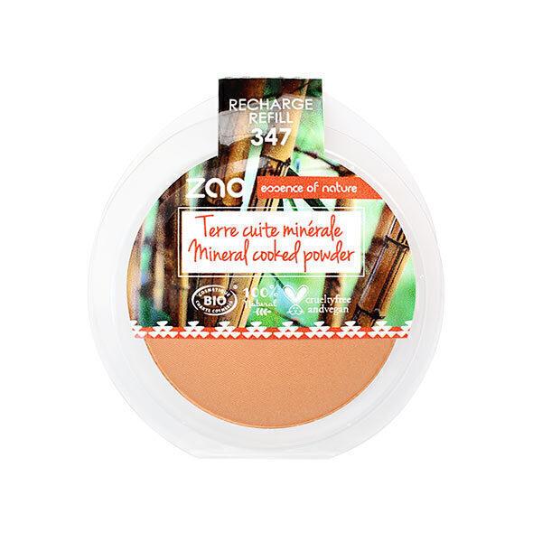 Zao MakeUp - Recharge Terre cuite minéral 347