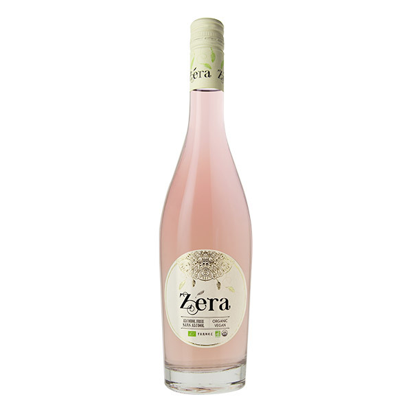 Zéra - Boisson sans alcool Rosé Cabernet Bio 750ml