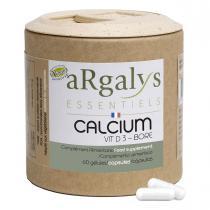 Argalys Essentiels - Calcium Vitamine D3 Bore 60 gélules