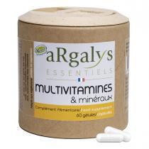 Argalys Essentiels - Multivitamines et Minéraux 60 gélules