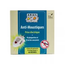 Aries - Prise anti-moustiques & 10 plaquettes