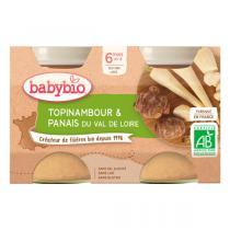 Babybio - Petits pots au topinambour et panais du Val de Loire 2x130g