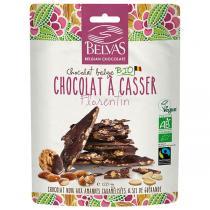 Belvas - Chocolat à casser florentin amandes 120g
