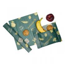 Greenweez - Emballages réutilisables cire végétale - Lot de 3