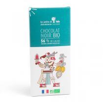 Les Jardins de Tula - Chocolat Noir 56% Amandes Caramel Fleur de sel 100g