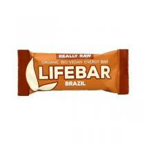 Lifefood - Barre énergétique noix du Brésil et guarana 47g