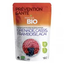 Madia Bio - Mix fruits rouges 150g