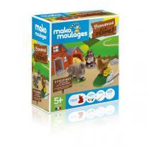Mako moulages - Coffret 3 moules - Bienvenue à la ferme - Dès 5 ans