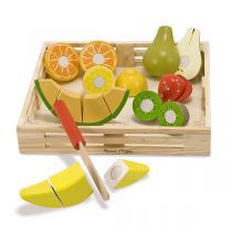 Melissa & Doug - Fruits à couper en bois - Dès 3 ans