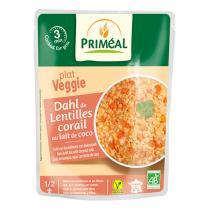 Priméal - Dahl de lentilles corail au lait de coco 250g