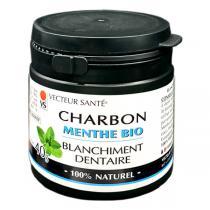 Vecteur Santé - Charbon dentaire blanchissant Menthe 40g