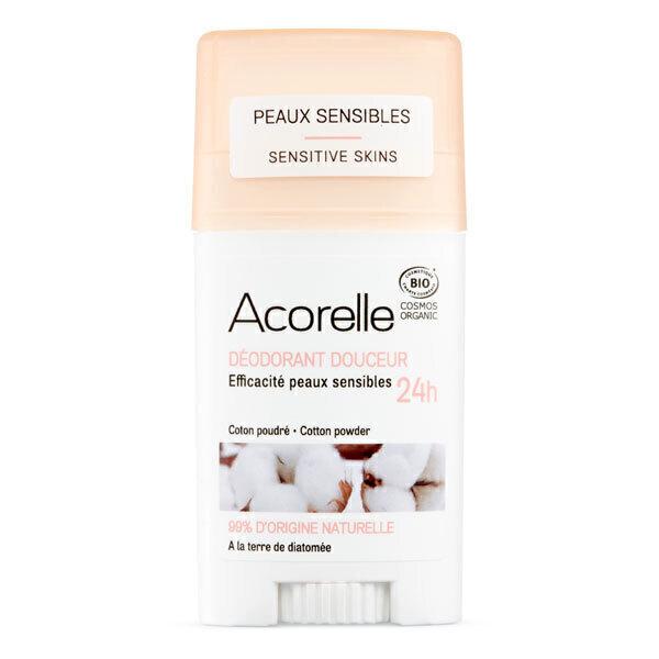Acorelle - Deodorant douceur Coton poudre 45g