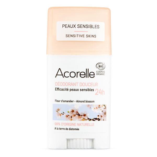 Acorelle - Deodorant douceur Fleur d'amandier 45g