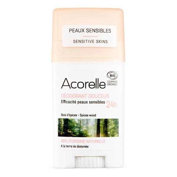 Acorelle - Deodorant douceur Bois d'epices 45g