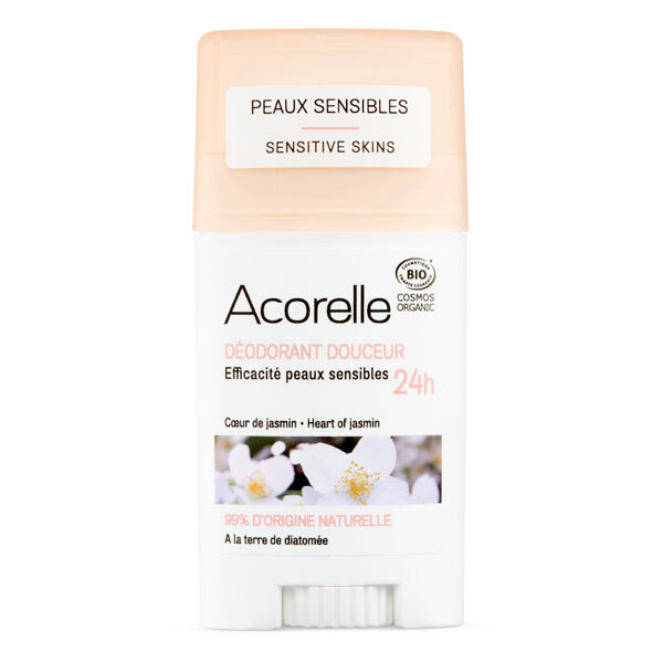 Acorelle - Deodorant douceur Coeur de jasmin 45g