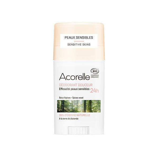 Acorelle - Déodorant douceur Bois d'épices 45g