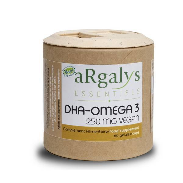 Argalys Essentiels - Omega 3 DHA d'Algues 60 gélules