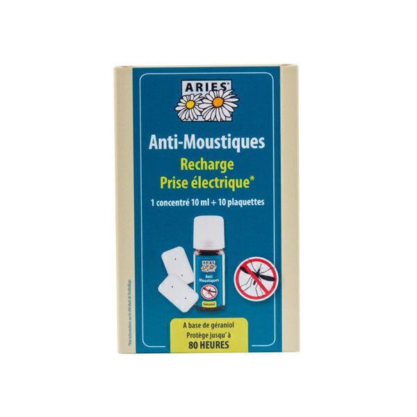 Aries - Recharge prise anti-moustiques & 10 plaquettes