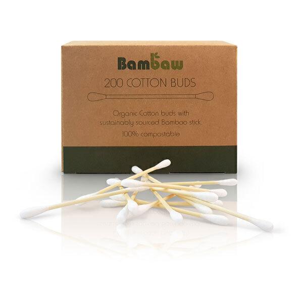 Bambaw - Boîte de 200 cotons-tiges en bambou