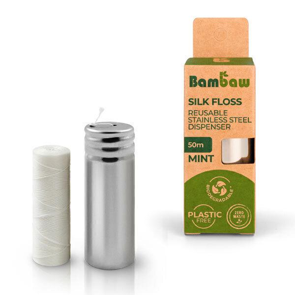 Bambaw - Distributeur de fil dentaire en soie