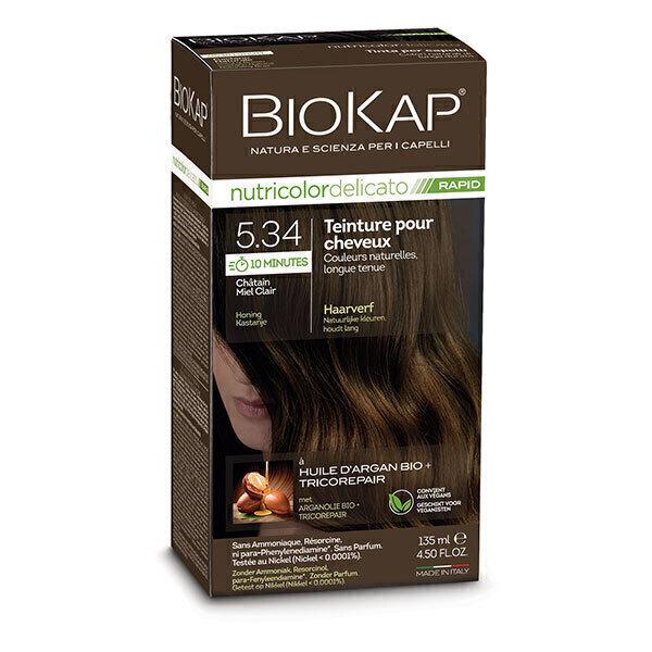 Biokap - Coloration Delicato Rapid 5.34 châtain miel clair 135ml