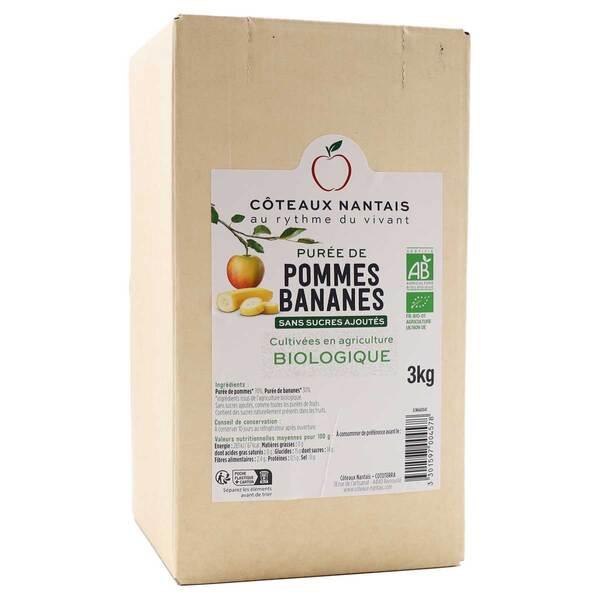 Côteaux Nantais - Purée pommes bananes 3kg