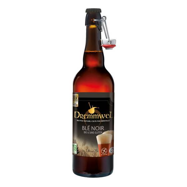 Dremmwel - Bière blé noir bio sans gluten 75cl