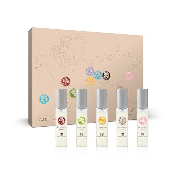 Fiilit Parfum - Coffret Découverte de 5 parfums 5X11ml