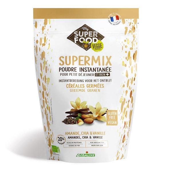 Germ'line - Supermix Amande, Chia, Vanille 350 g