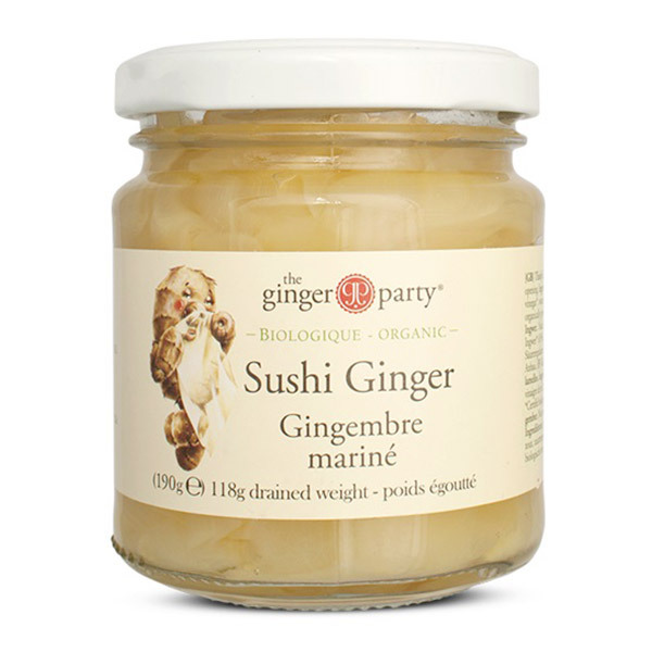 Ginger People - Gingembre mariné 190g