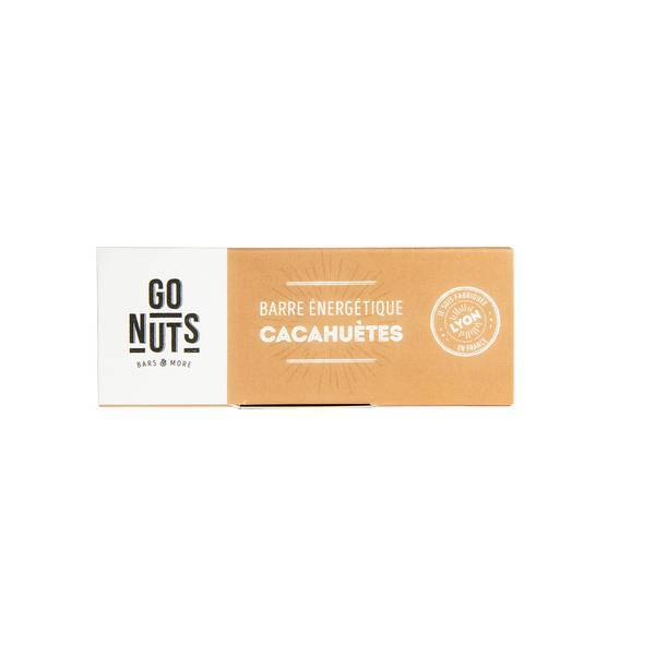 Go Nuts - Barre cacahuètes 45g