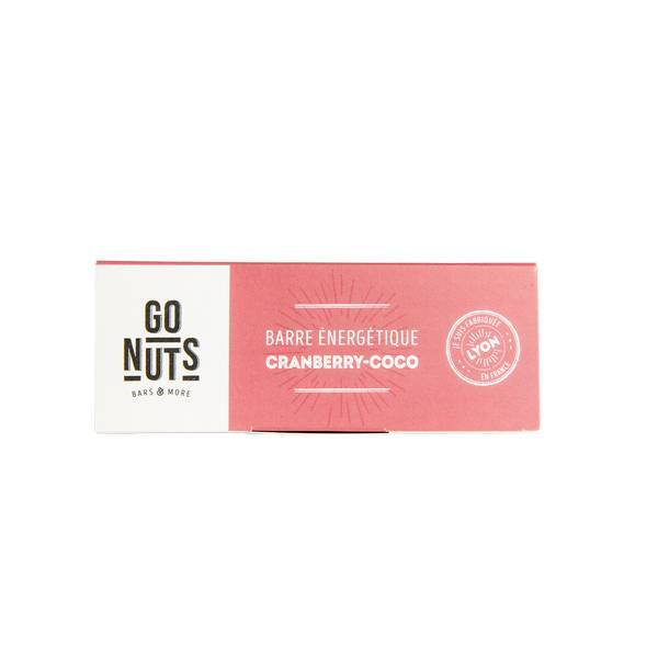 Go Nuts - Barre cranberry-coco 45g