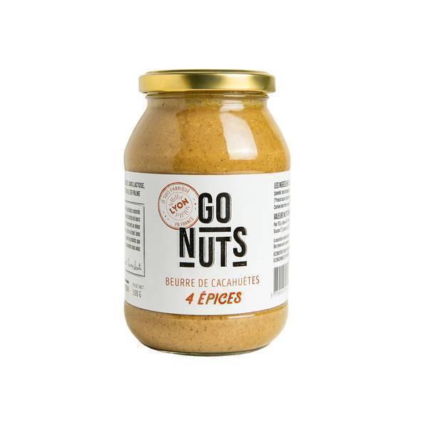 Go Nuts - Beurre de cacahuètes 4 épices 500g