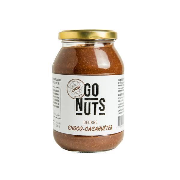 Go Nuts - Beurre de cacahuètes chocolat 500g