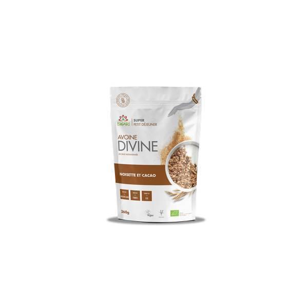 Iswari - Mix à l'Avoine Divine cacao et noisettes - 360g