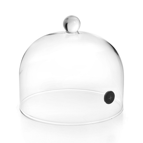 Lacor - Cloche pour fumoir portable 16 x 12cm