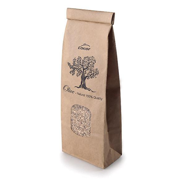 Lacor - Sciure de bois d'olivier pour fumoir 100g