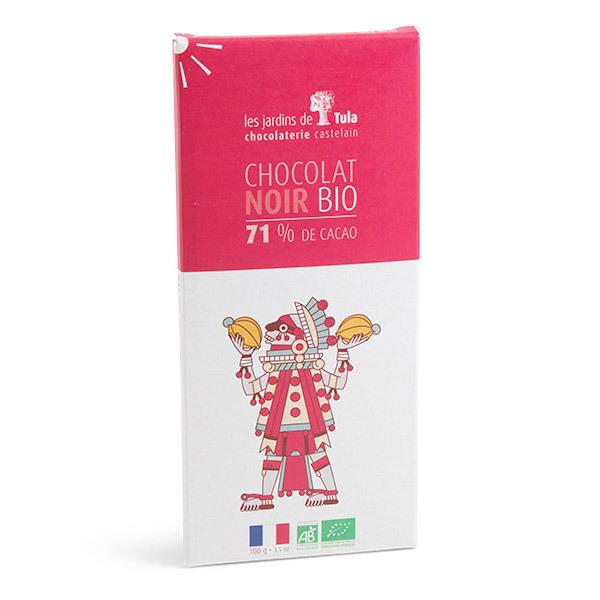 Les Jardins de Tula - Chocolat Noir 71% de cacao 100g