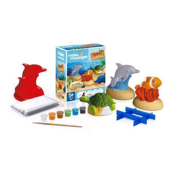 Mako moulages - Coffret 3 moules - Cap sur la mer - Dès 5 ans