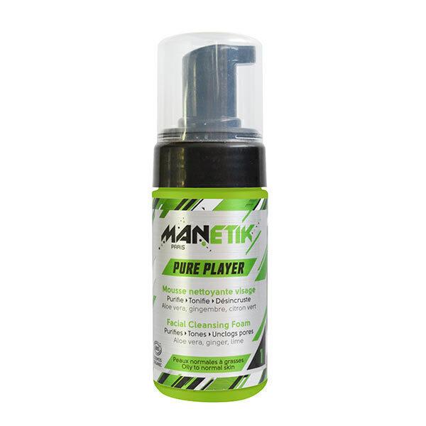 Manetik - Mousse nettoyante purifiante 100ml