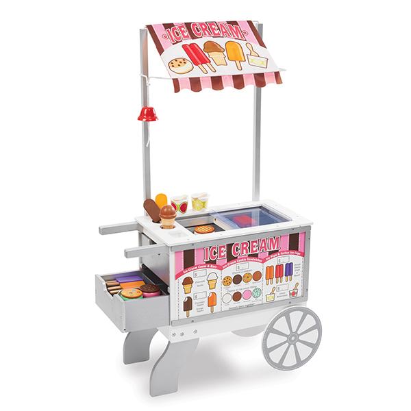 Melissa & Doug - Chariot ambulant glaces & hot-dogs - Dès 3 ans