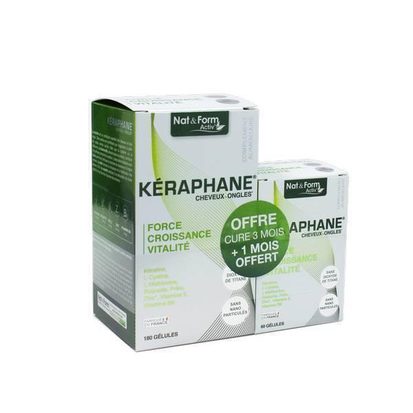 Nat & Form - Kéraphane - 180 gélules + 60 gélules offertes
