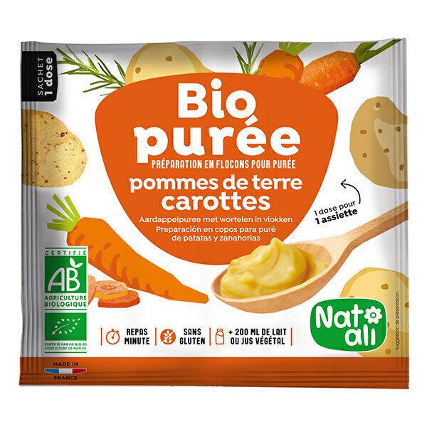 Natali - Purée pomme de terre-carottes 30g