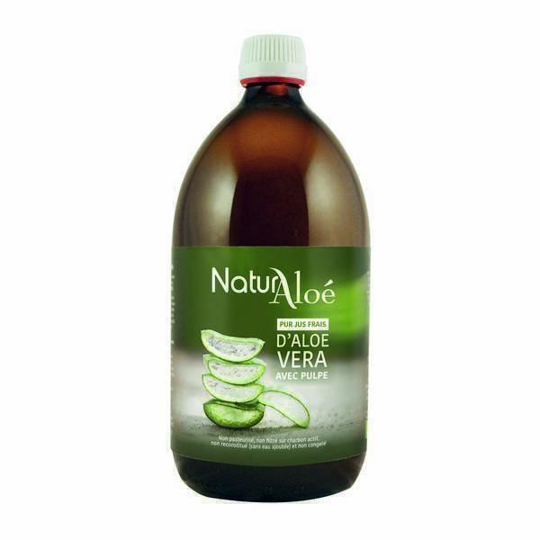 NaturAloe - Pur jus frais d'Aloe vera 500ml