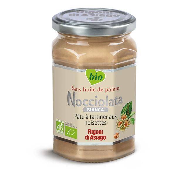 Nocciolata - Nocciolata Bianca, pâte à tartiner aux noisettes 350g