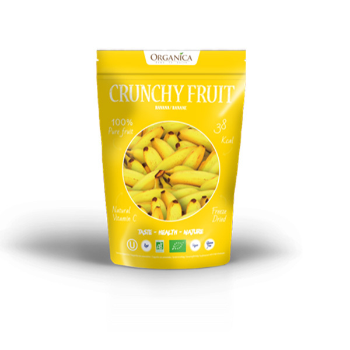 Organica - Banane lyophilisée 16g