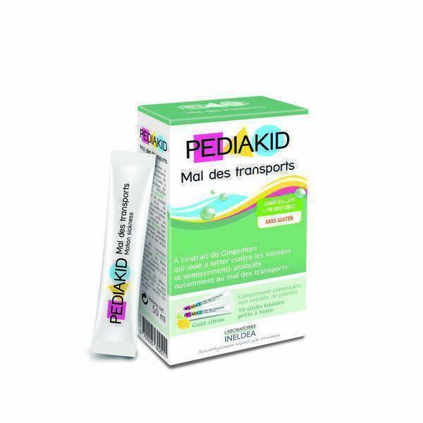 Pediakid - Mal des transports - 10 sticks liquides pour enfant