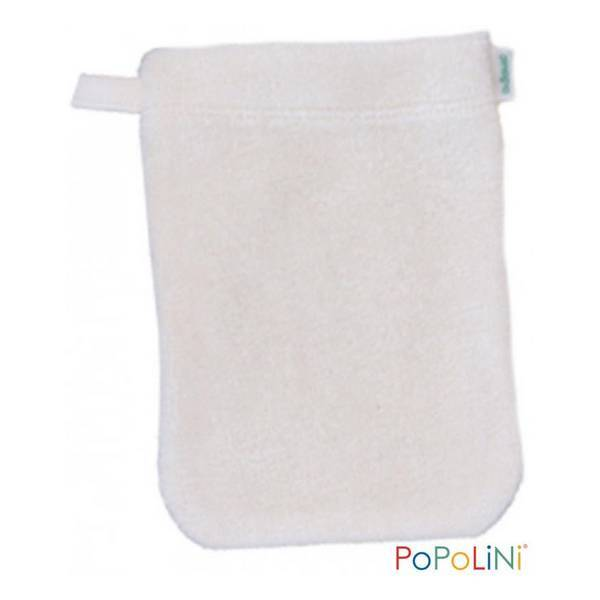 Popolini - Gant de toilette d'apprentissage Écru - Taille S